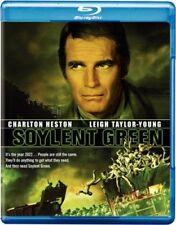 SOYLENT GREEN (1973) BLU RAY - CHARLTON HESTON   REGION FREE