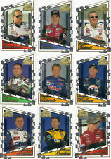 2001 Premium CHAMP & CHALLENGER 19 card Die-Cut subset BV$50! Dale Sr/Jr, Gordon
