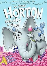 Dr. Seuss' HORTON HEARS A WHO Deluxe Edition DVD NEW