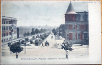 1905 Postcard: Broadway & North Ave./Downtown - Baltimore, Maryland MD