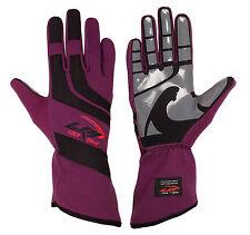 LRP Kart Racing Gloves- Speed Gloves Black/Purple