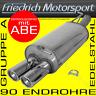 FRIEDRICH MOTORSPORT EDELSTAHL SPORTAUSPUFF BMW 318D 320D LIMO/COUPE/TOURING E46