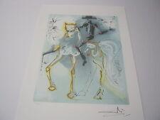 "Salvador Dali  Lithograph "" Le Picador "" Plate-Signed"