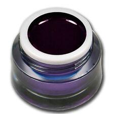 Premium Glossy UV Gel Dunkelrot Rot Black Cherry ohne Schwitzschicht #649-11