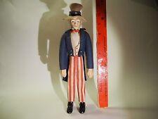 VTG AMERICANA US WORLD WAR I ERA DOLL PRIMITIVE FOLK ART UNCLE SAM JAMES FLAGG