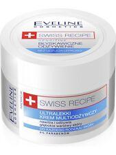 20,90EUR/100ml EVELINE SWISS RECIPE Multipflegecreme Gesicht & Körper UREA 50 ml
