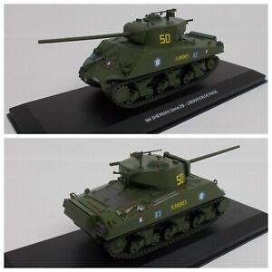 1/43 Odeon Char M4 Sherman 2ème Division Blindée Libération Paris Livra Domicile