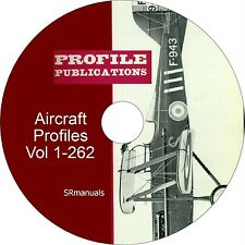 Profile Publications Aircraft Profiles Vol 1 to 262 - PDFs on DVD