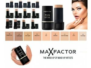 Original Max Factor Pan Stik Rich Creamy Foundation For Normal And Dry Skin