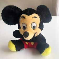 Vintage 60's Mickey Mouse Plush Walt Disney Productions Bean Bag Stuffed Doll