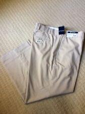 NWT STAFFORD ESSENTIALS 47.5x29 EASY CARE BIG TALL FLAT FRONT DRESS PANTS F-120