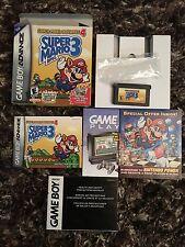 Gba Gameboy Advance Super Mario Bros. 3 Super Mario Advance 4 CIB L@@K