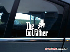 The GOLFather, shifter sticker for vw Golf mk1 mk2 mk3 GTi VR6