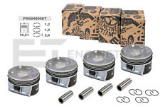 4x PISTÓN KIT pm004800 Ø 76,51mm SKODA VW GOLF PASSAT 1 , 4tfsi 16v caxa CAXC