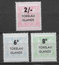TOKELAU ISLANDS , NEW ZEALAND , 1966, , SET OF 3 , PERF , MNH