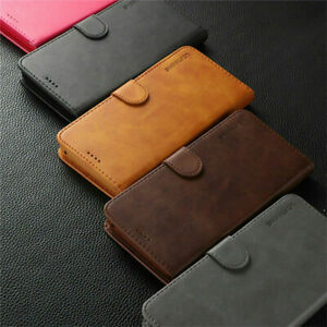 Leather Wallet Flip Case Cover Stand For iPhone 12 11 Pro Max XS XR 7 8 Plus