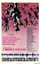 A BRIDGE TOO FAR Movie POSTER 11x17 B Sean Connery Robert Redford James Caan