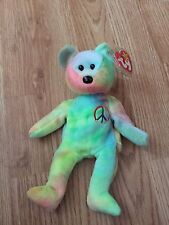 Ty Beanie Babies Peace 1996Tags Retired L@@K