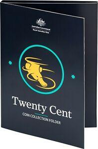 Royal Australian Mint 20c 20 Twenty cent Circulating Coin Collection Folder Only