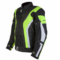 SPADA CURVE WATERPROOF MOTORCYCLE JACKET SPORTS BLACK FLUO YELLOW