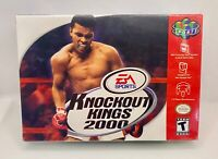 *NEW & SEALED* Knockout Kings 2000 (Nintendo 64, 1999) *SEE PHOTOS*