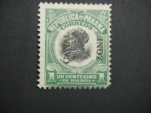 CANAL ZONE 46 MINT NH OG light green 2nd printing with aps cert.