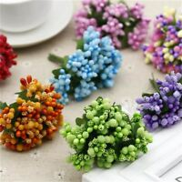 12PCS/lot  Artificial Flower Stamen wire stem/marriage leaves stamen DIY wreath