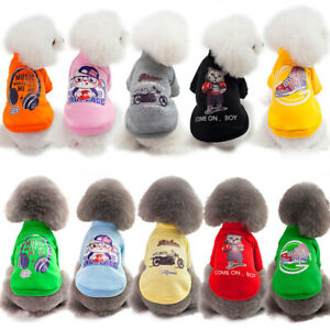 New Puppies Pet Clothes Small Teddy Dog Cat Apparel Chihuahua Vest Color S-XXL