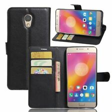 Shockproof PU Leather Flip Case Card Pocket Wallet Cover Case For Lenovo Vibe P2