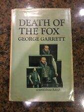 Death Of The Fox By George Garrett First Printing 1st Edition 1971