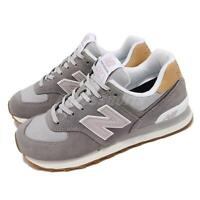 New Balance 574 Tencel Grey Taro White Women Casual Lifestyle Shoes WL574NA2 B