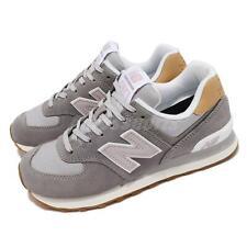 New Balance 574 трикотажа серый Таро белых женский повседневный образ жизни кроссовки WL574NA2 B