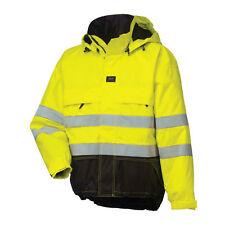 5ead771084cc HELLY HANSEN Ludvika Parka Jacket Hi Vis EN471 Yellow Charcoal - 2XL