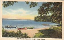 Postcard Greetings from New Hope PA