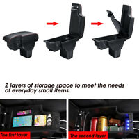 Central Armrest Console Storage Box Cup Handrails USB For Nissan Juke 2010-15