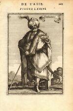 PROPHET MOHAMMED. Muhammad ????? 'Mahomet'. Islam Muslim Moslem. MALLET 1683