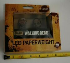 The Walking Dead LED Zombie Paperweight SEALED