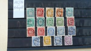 Verkaufe Norwegen 1882/84 gestempelt