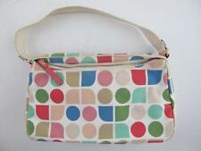 Kate Spade Colorful Classic Logo Pink White Handbag Purse Shoulder HOBO Bag