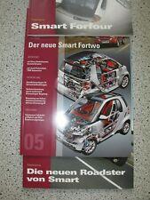 Orig. Hersteller-Fachberichte Smart Fortwo Smart Fourfour Smart Roadster 2003-7