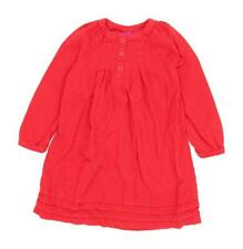 J Khaki Girls Red Dress Size S