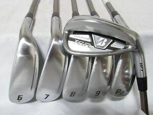 Used RH Bridgestone JGR HF1 Forged Iron Set 6-P1,P2 Regular Flex Graphite Shafts