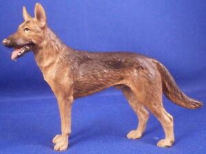 Vienna Bronze German Shepherd Dog Figurine Figure Wiener Wien Figur Bergmann