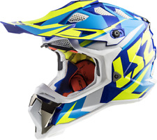 LS2 MX470 Subverter Nimble Motocross Helmet White Off Road Crash Lid Racing MX