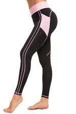 Para mujeres cintura alta bolsillos Corazón Trasero Tummy Control Entrenamiento Yoga Pantalones Leggings