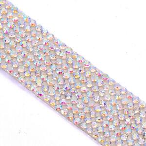 Bling Rhinestone Crystal Sticker Glitter Diamond Decal Sheet Self-Adhesive Decor