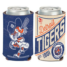 Detroit Tigers MLB Cooperstown Can Cooler 12 oz. Koozie