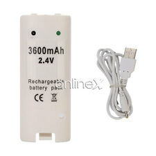 Batería Recargable para Mando Remote Wii Blanco envío desde España a2498