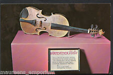 America Postcard - Matchstick Violin, Ripley's Believe It or Not Museum DR148