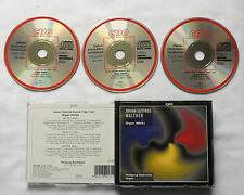 W. STOCKMEIER / J.-G. WALTHER Organ works GERMANY ED1 3CD box CPO 999 131-2(1991